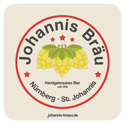 Bierdeckel Johannis Bräu